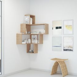 Bookcase Alison | Brown