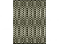 Jute Rug Honeycomb | Brown