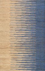 Jute Rug Pente | Brown/Navy Blue