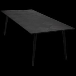 Table HOOD | Black Stained Ash