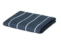Fitted Sheets Horsens | White & Navy