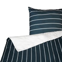 Bettbezug Horsens | Weiß & Blau