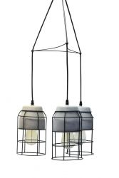 Hanging Lamp Horatio | Black