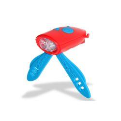 Mini Hornit Fahrradlicht | Rot & Blau