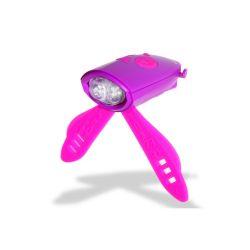 Mini Hornit Fahrradlicht | Pink & Violett