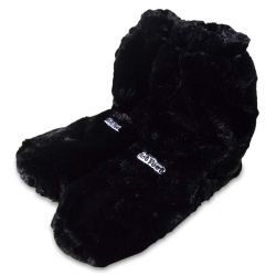 Microwave Safe Hot Boots Deluxe | Black