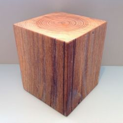 Sit On Everything Cube | Wood