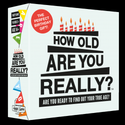 "Jeu Festif ""How Old Are You Really?"" (En anglais)"