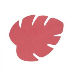 Set de Table Monstera | Corail