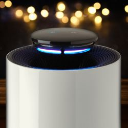 HUGO 3-in-1 Air Purifier + Air Streilizer + Mosquito & Insect Catcher   White