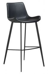 Bar Stool Hype Artificial Leather | Black