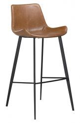 Bar Stool Hype Vintage Artificial Leather | Light Brown