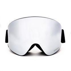 Skibrille mit Audio | Silber Mirror