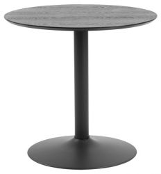 Table de Salon Ronde Exotika Ø 80 cm | Noir