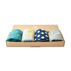 Sokken Man Set van 4 | Under the Sea Gift Box