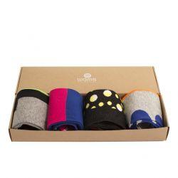 Socken Blocks Geschenkbox