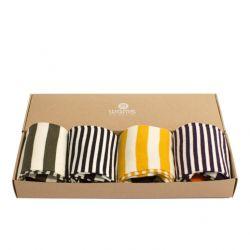 Socken Stripes Geschenkbox