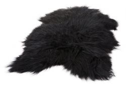 Icelandic Sheepskin | Wild Black