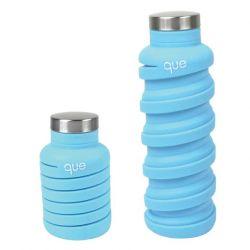 Zusammenklappbare Wasserflasche | Eisbergblau
