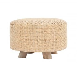 Pouf Weave | Natural