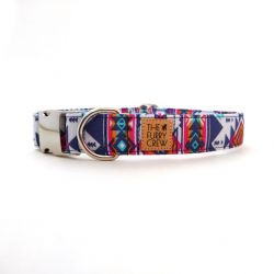 Dog Collar Ikat