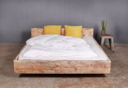 Bed Lussan with Headboard | Red