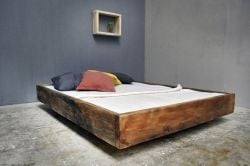 Bed Lussan | Pine Wood
