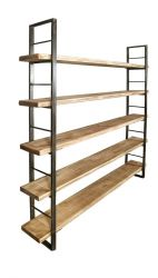 Sinem Shelf with Book End | Light Brown