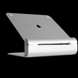 MacBook Stand with Adjustable Height iLevel2 | Silver