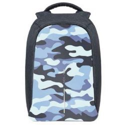Anti-theft Backpack Bobby Compact | Blue