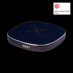 Power Bank & Wireless Qi Charger CHARGEit | Navy