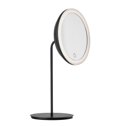 Table Mirror 18 cm | Black
