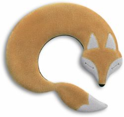 Warming Pillow Noah the Fox | Sand/Black