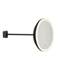 Wall Mirror 18 cm | Black