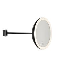 Wandspiegel 18 cm | Schwarz