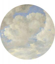 Wandtapete Rund Golden Age Clouds | 5 Blätter