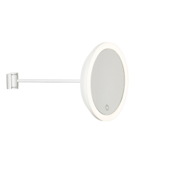 Wall Mirror 18 cm | White
