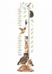 Wandaufkleber Wachstum Diagramm | Forest Friends 1
