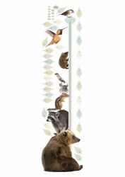 Wandaufkleber Wachstum Diagramm | Forest Friends 2