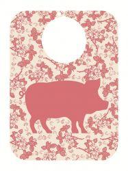 Organic Bib Pink Pig