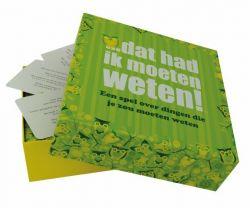Trivia Game Dat Had Ik Moeten Weten! (in Dutch)