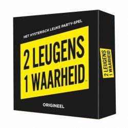 Partyspiel 2 Leugens 1 Waarheid (auf Niederländisch)