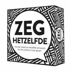 Party Game Zeg Hetzelfde (in Dutch)