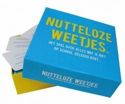 Jeu-questionnaire Nutteloze Weetjes (Néerlandais)