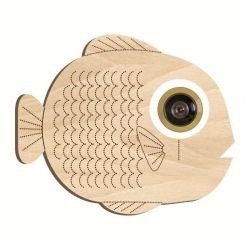 Patroon voor kijkgat - Vis