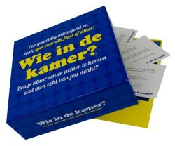 Party Game Wie In De Kamer (in Dutch)