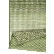 Doppelseitiger Teppich Moka | Grün