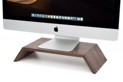 Solid Wood Monitor Stand | Walnut