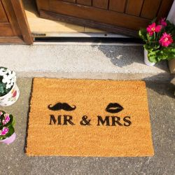 Doormat Mr and Mrs