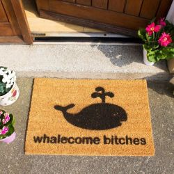 Doormat Whalecome Bitches